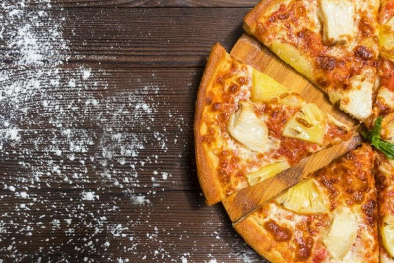 Exotic Tropical Hawaiian Pizza in Muscat Oman