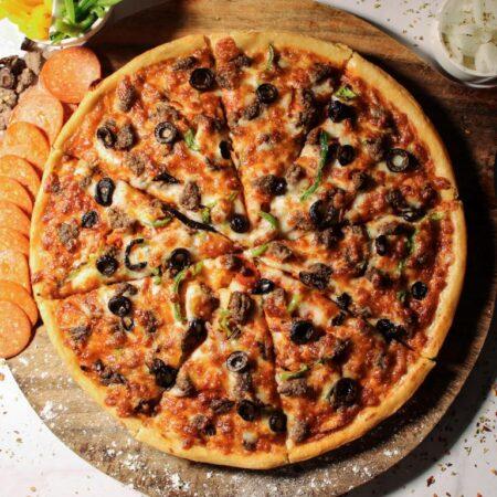 Meaty Premier Pizza in Muscat Oman