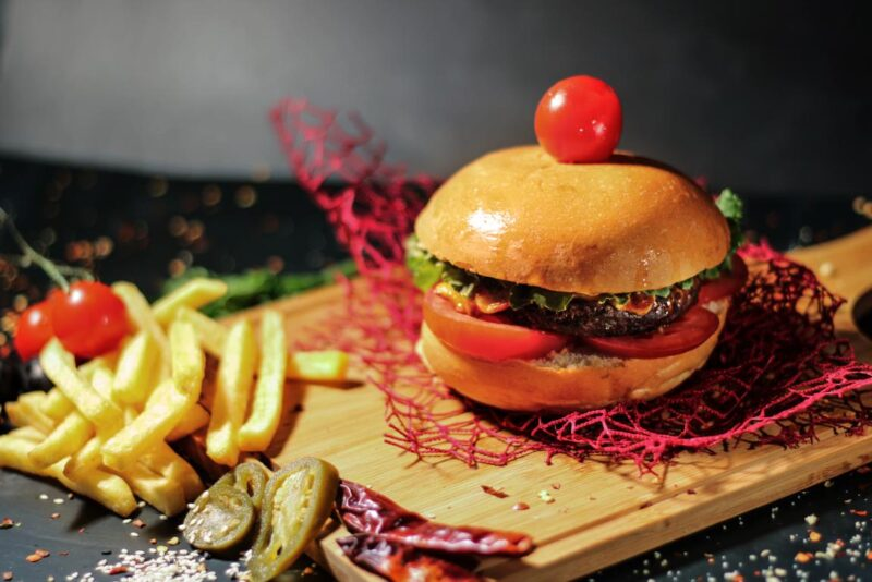 Beef Burger in Muscat Oman